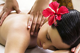 Back Scrub and Aromatherapy Oil Massage